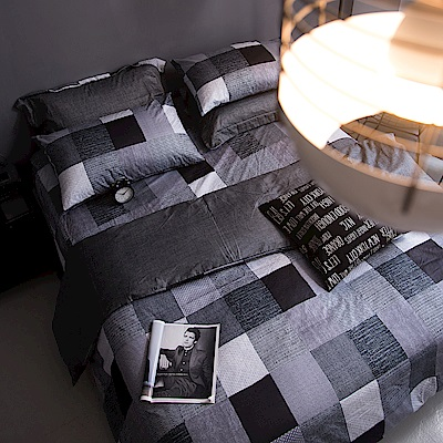 OLIVIA  克里斯  雙人兩用被套床包四件組