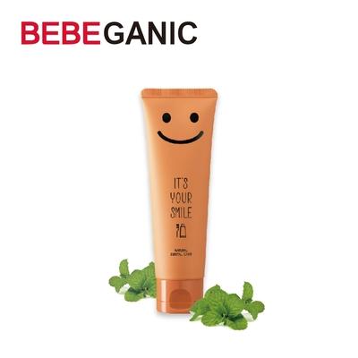 BEBEGANIC 韓國 兒童微笑低氟牙膏 100g 清爽薄荷