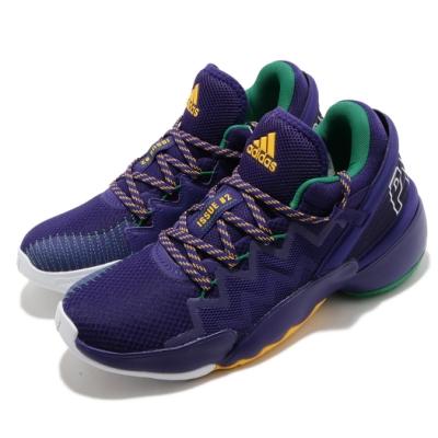 adidas 籃球鞋 DON Issue 2 GCA 男鞋 愛迪達 米邱 明星款 Bounce 反光 紫 黃 FW9037