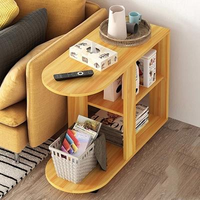 【HappyLife】移動式小茶几沙發邊櫃 60×30×67CM