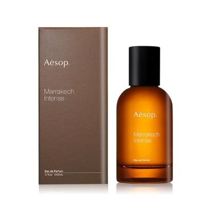 Aesop 馬拉喀什馥郁香水 Marrakech Intense 50ml加贈香水分裝瓶-國際航空版