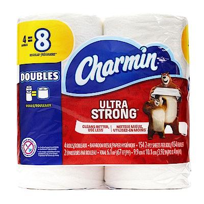美國 Charmin 超強韌捲筒衛生紙(154張x4捲/串)