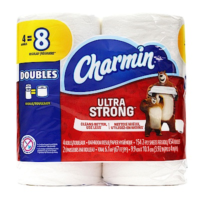 Charmin-超強韌捲筒衛生紙-154張