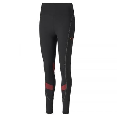 PUMA-女性訓練系列First Mile緊身褲-黑色-歐規