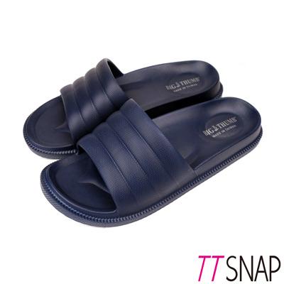 TTSNAP拖鞋-MIT輕量室內舒適居家拖鞋 藍
