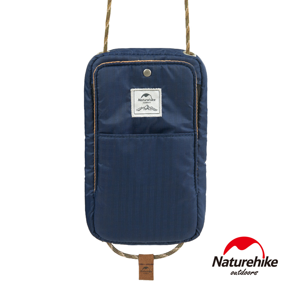 Naturehike 頸掛式防水旅行護照證件收納包 藏青