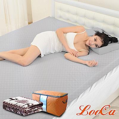 (開學組)加大6尺-LooCa 經典超透氣3cm全記憶床墊