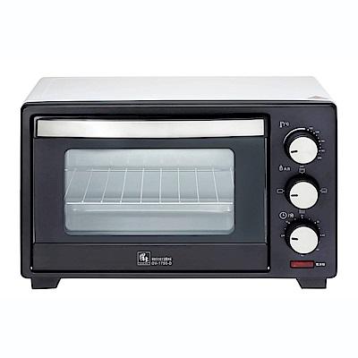 鍋寶17L鍋寶多功能定溫電烤箱 OV-1750-D