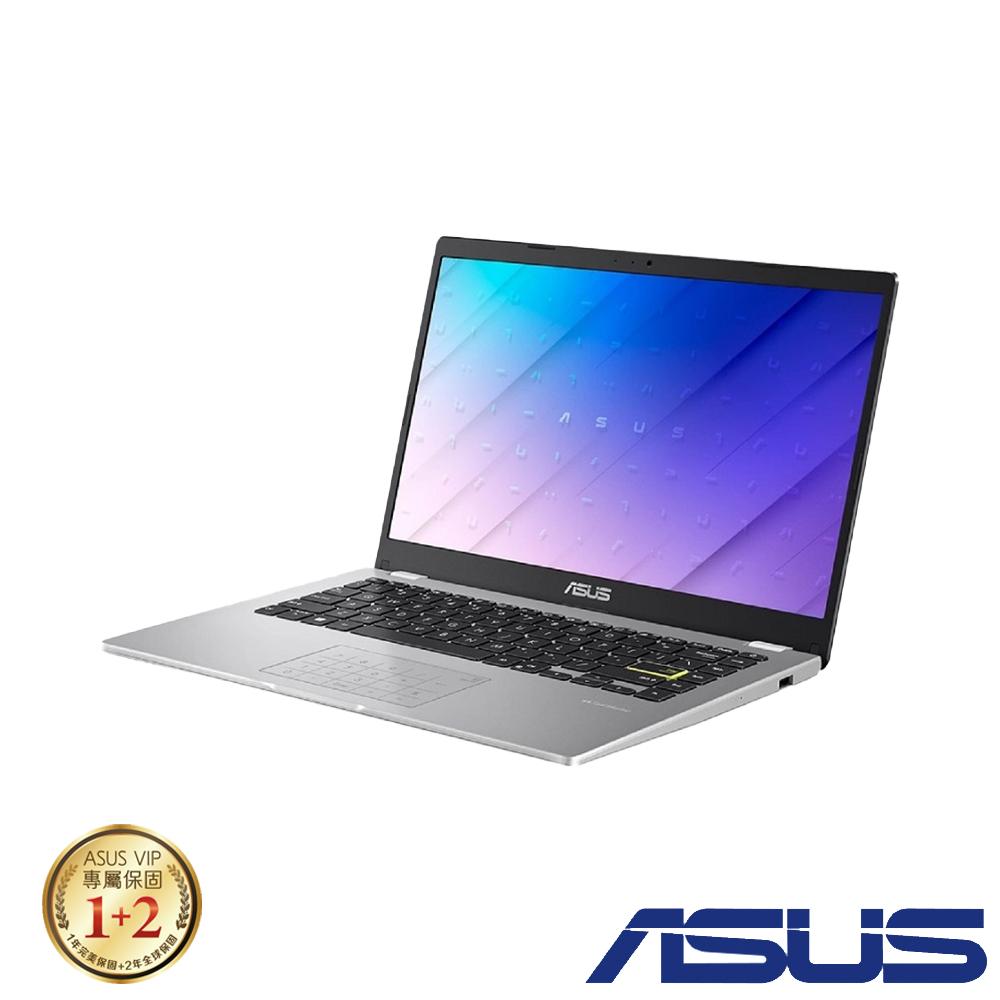 ASUS E410MA 14吋筆電 (N4020/4G/64G eMMC/Win10 HOME S/LapTop/夢幻白)