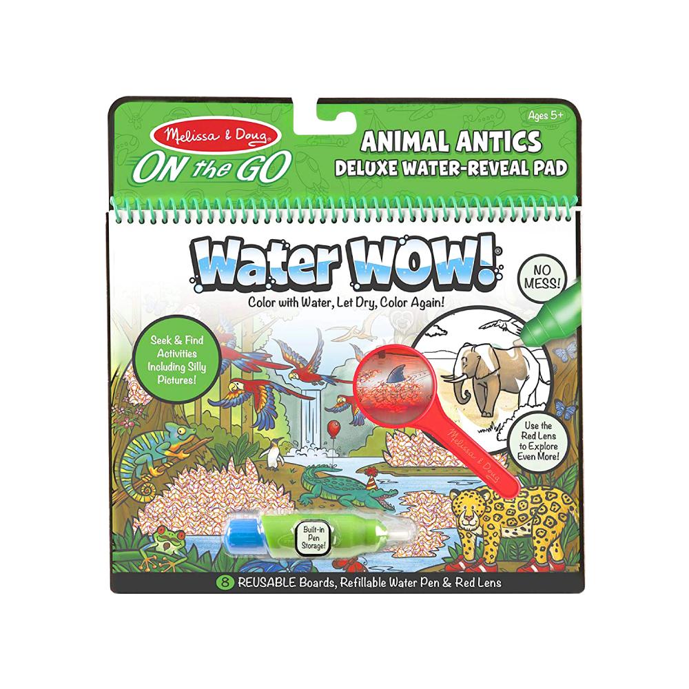美國瑪莉莎 Melissa & Doug 神奇水畫冊 , 豪華款有趣動物