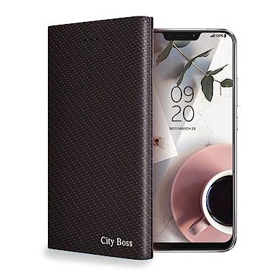 CITY ZenFone 5 ZE620KL/5Z ZS620KL 流行尖端紋皮套