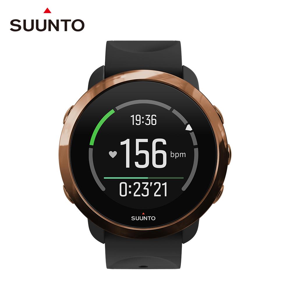 SUUNTO 3 Fitness 保持健康與活力生活的體適能運動腕錶 (典雅復古銅)
