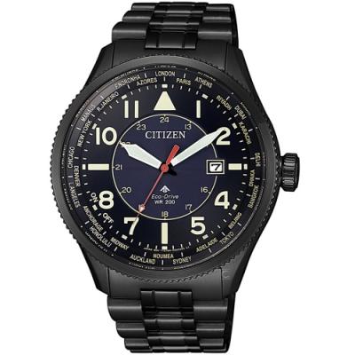 CITIZEN星辰PROMASTER探險指南光動能手錶(BX1015-84L)