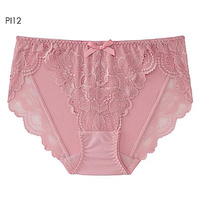 aimerfeel 花卉蕾絲性感內褲-珊瑚粉紅色-603722-PI12