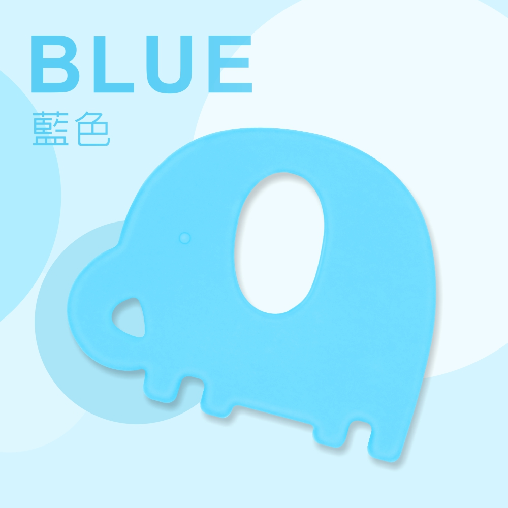 【PUKU】Baby GaGa小象固齒器(含鍊夾/收納盒) product image 1
