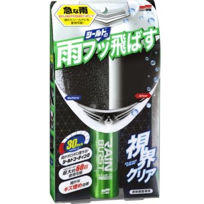 日本SOFT 99 安全帽護目鏡鍍膜劑-急速配