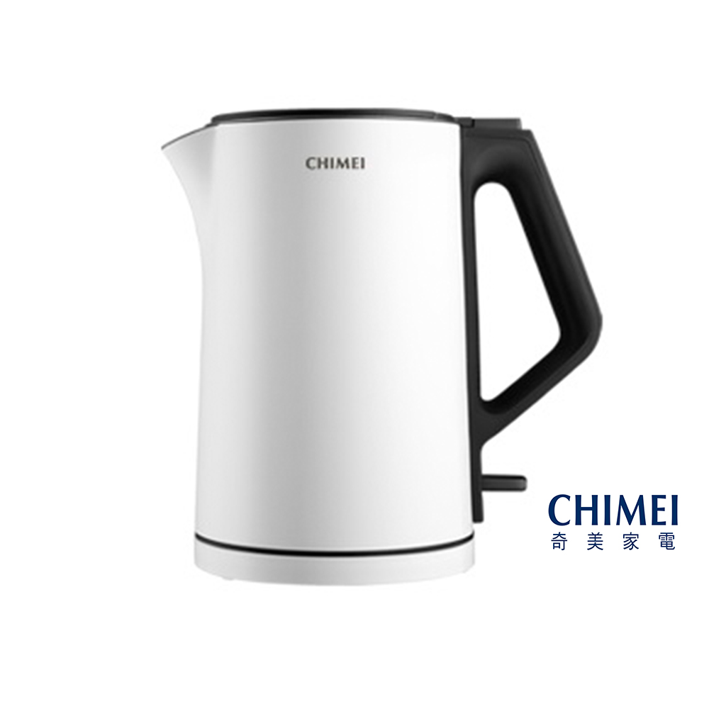 CHIMEI奇美 1.5L 水輕巧不鏽鋼快煮壺(純白) KT-15MD00