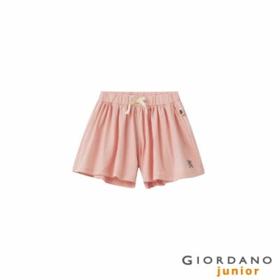 GIORDANO 童裝獅王刺繡褲裙 - 25 粉末粉紅