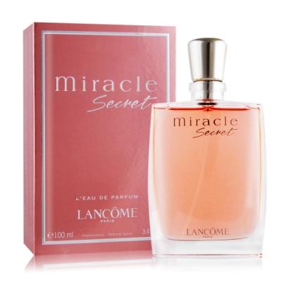 (期效品)LANCOME蘭蔻Miracle Secret真愛奇蹟香水(茉莉清甜版)100ml-期效202112