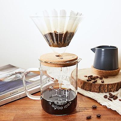 賽先生科學 咖啡因理科手沖咖啡組 (燒杯+漏斗)