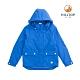 【hilltop山頂鳥】童款二合一防水蓄熱羽絨短大衣F22CJ2奧海藍 product thumbnail 1