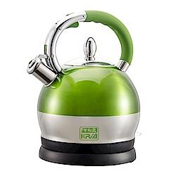 KRIA可利亞 2.5公升全不鏽鋼防塵電煮壺KR-396G