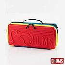 CHUMS - 日本 Booby Slim 窄版收納盒 紅/藍綠