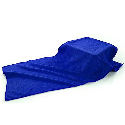 車的背包 超細纖維加厚磨絨擦車布(30x60cm 3入組)藍色
