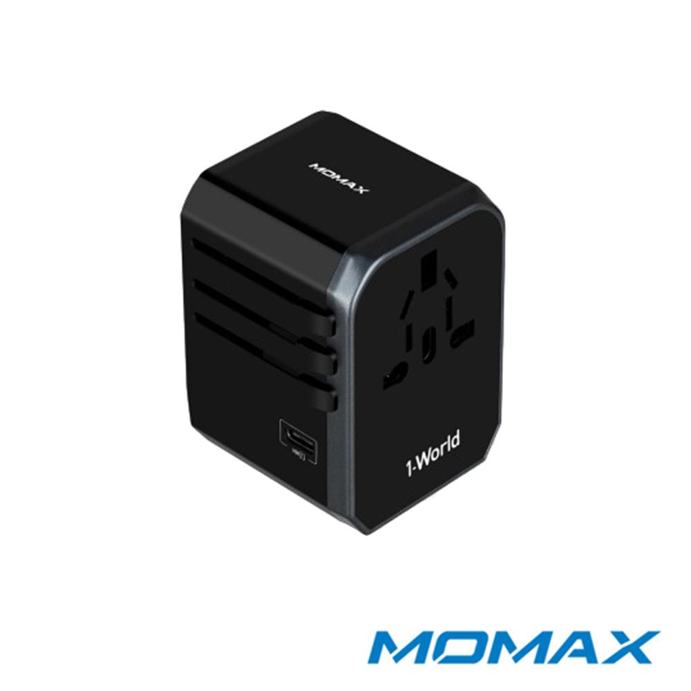 MOMAX 1-World USB AC旅行插座(Type-C+4 USB-A)