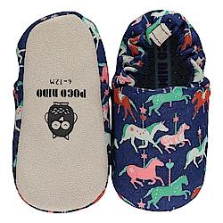 英國 POCONIDO 手工嬰兒鞋 (旋轉木馬)