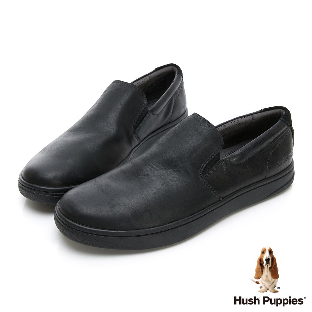 Hush Puppies Bounce 超彈力便鞋-幻黑