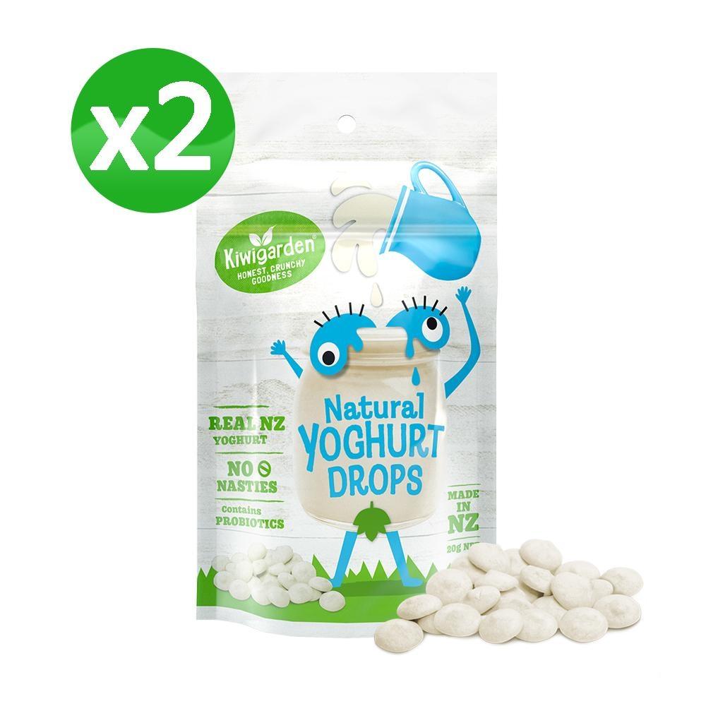 【紐西蘭 Kiwigarden】益菌優格豆 原味 20g/袋*2袋(益生菌/鈣/兒童寶寶)