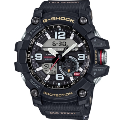 CASIO卡西歐 極限大陸G-SHOCK概念錶(GG-1000-1A)