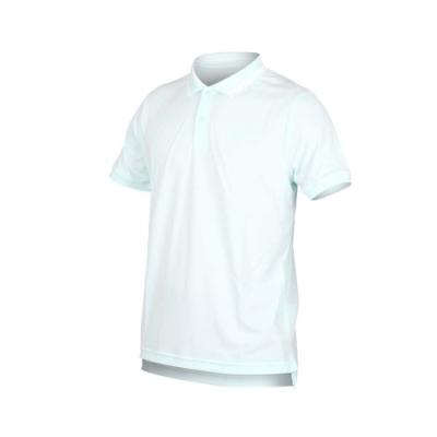 NIKE 男短袖針織POLO衫-短袖上衣 慢跑 網球 湖水綠白