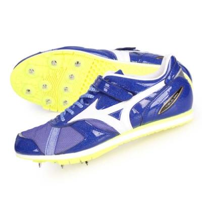MIZUNO FIELD GEO AJ-B-日製男女田徑釘鞋-三級跳 U1GA194101 藍白銀
