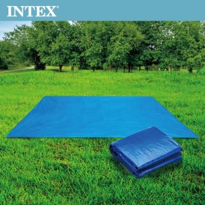 INTEX 防水地墊/露營地墊/游泳池地墊/地布(472*472cm) (28048)