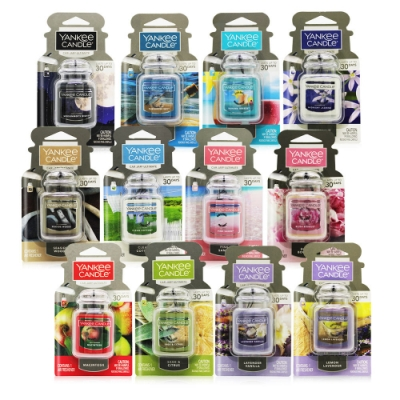 YANKEE CANDLE Car Jar ULT車用/室內 芳香劑吊飾-多款可選(美國原廠公司貨平行輸入