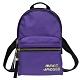 MARC JACOBS Trek Pack 雙拉鍊尼龍後背包-紫色(小) product thumbnail 1