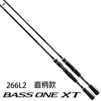 【SHIMANO】BASS ONE XT 266L2 路亞竿