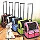 外銷歐美【dyy】美式拉桿雙袋寵物旅行箱車大號44*34*46 product thumbnail 1