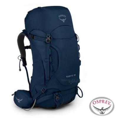 OSPREY 新款 Kestrel 38L 輕量健行登山背包_湖泊藍 R