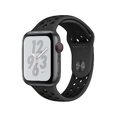 [無卡分期-12期]AppleWatch S4 Nike+40mm網路版灰鋁金屬錶殼黑錶帶