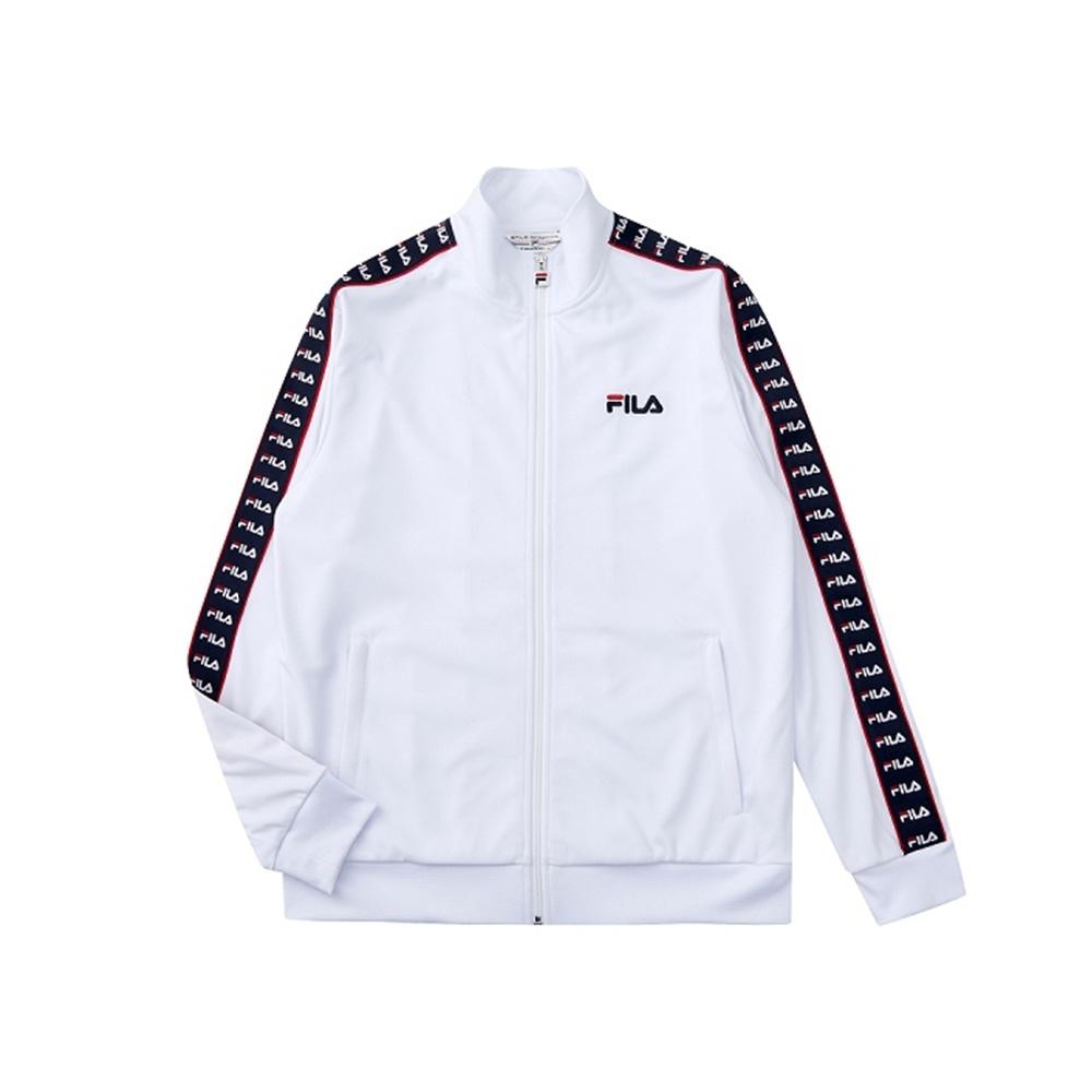 FILA 吸濕排汗外套-白色 1JKV-1474-WT