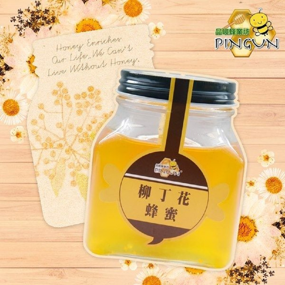 品峻 柳丁花蜂蜜(500g/罐)
