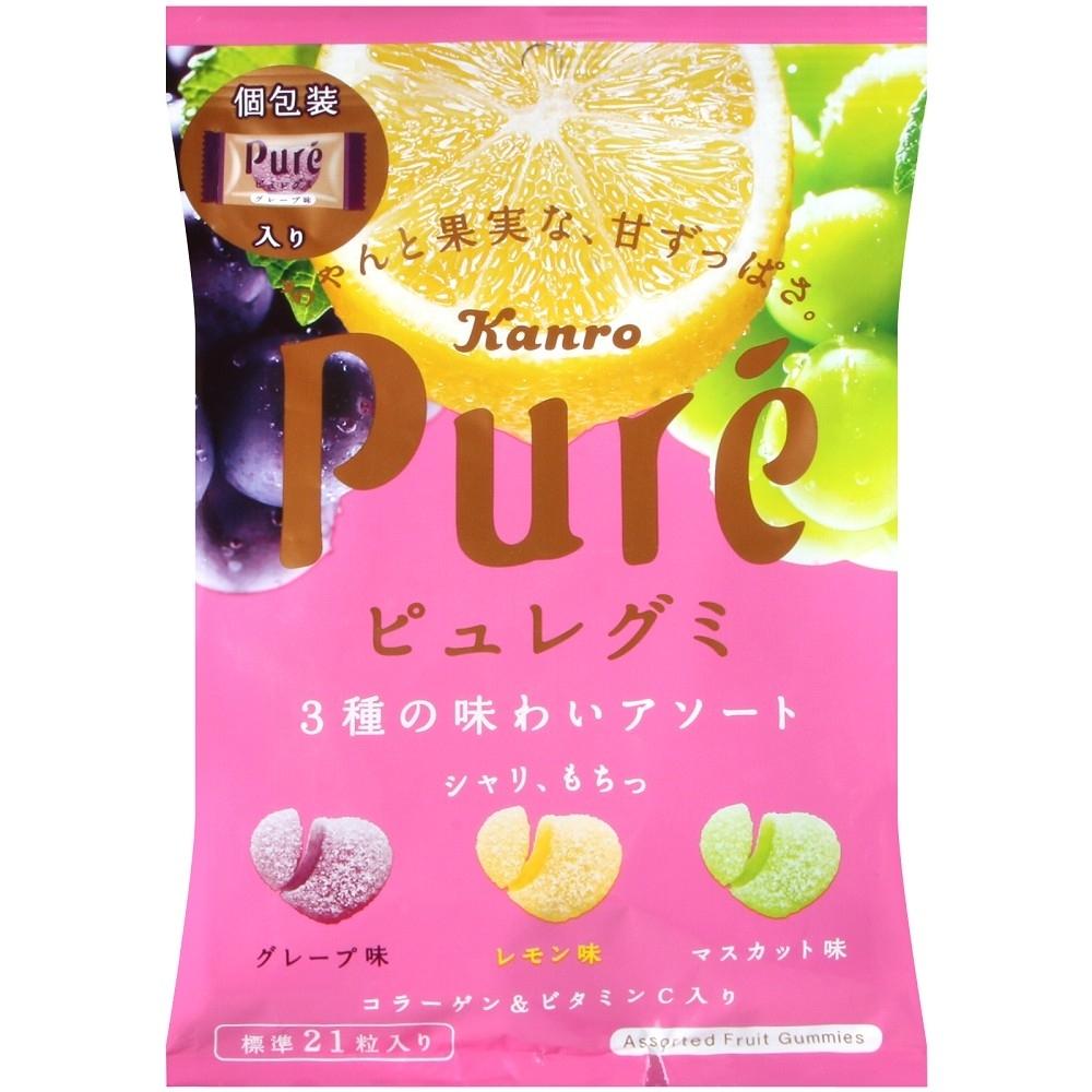 Kanro Pure綜合水果軟糖(77g)