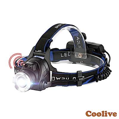 Coolive「CREE L2 LED」智慧感應強光頭燈