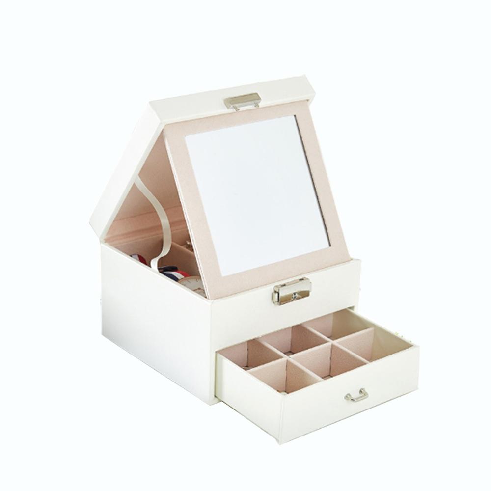 COMET 簡約大雙層珠寶首飾收納盒(TO-BX10)