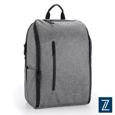 74盎司 Witty 休閒商務造型後背包(15吋)[G-1073-WI-M]灰