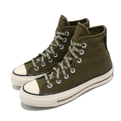 Converse 休閒鞋 All Star 高筒 穿搭 男女鞋 GTX鞋面 舒適 簡約 情侶款 綠 米白 168859C