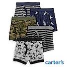 Carter's 帥氣男孩5件組四角褲